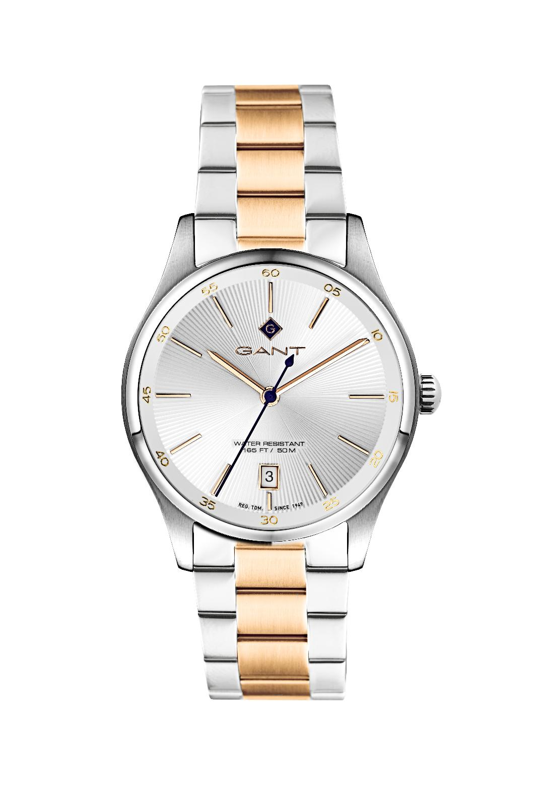 Γυναικείο Ρολόι GANT Arlington Two Tone Stainless Steel Bracelet.